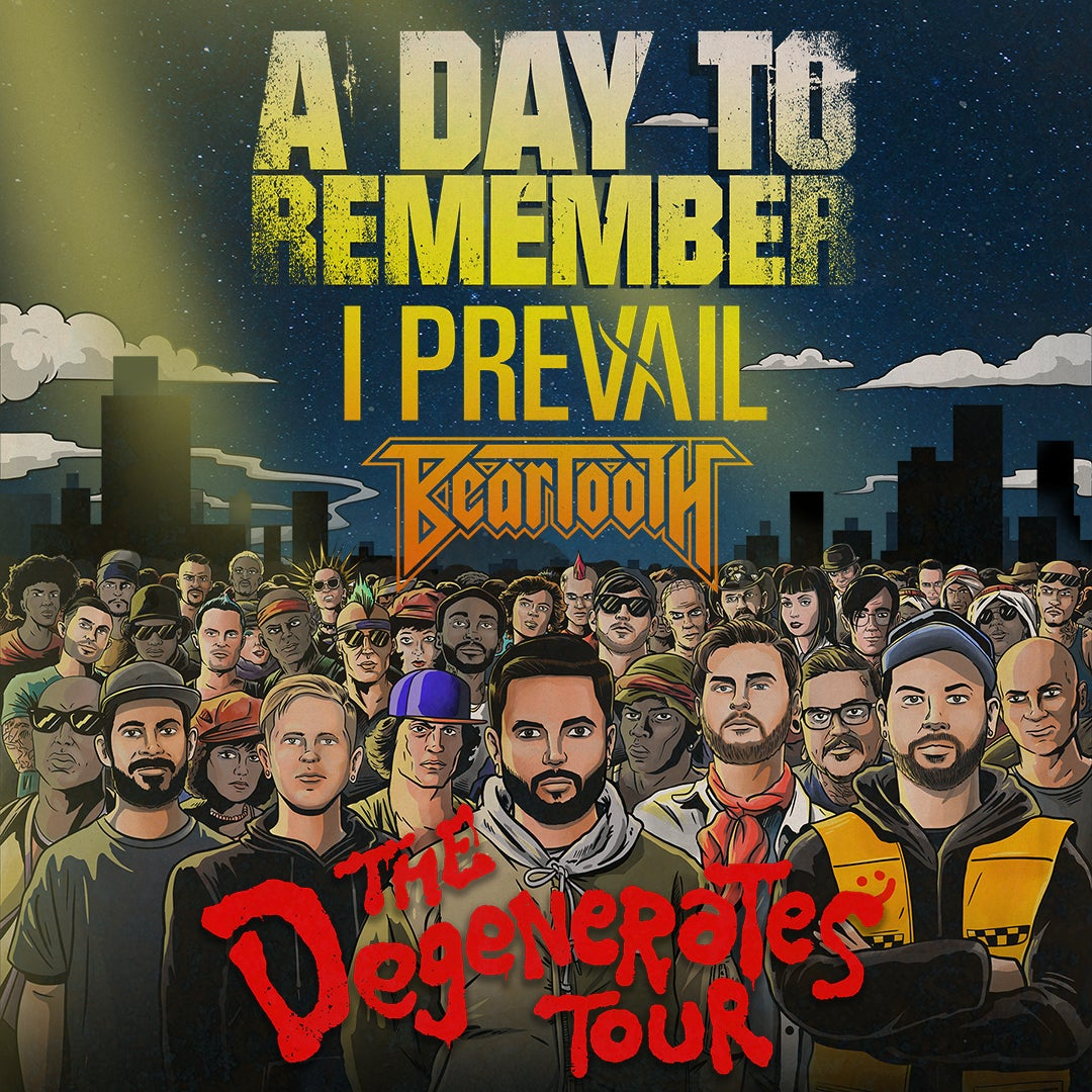 More Info for A Day To Remember The Degenerates Tour