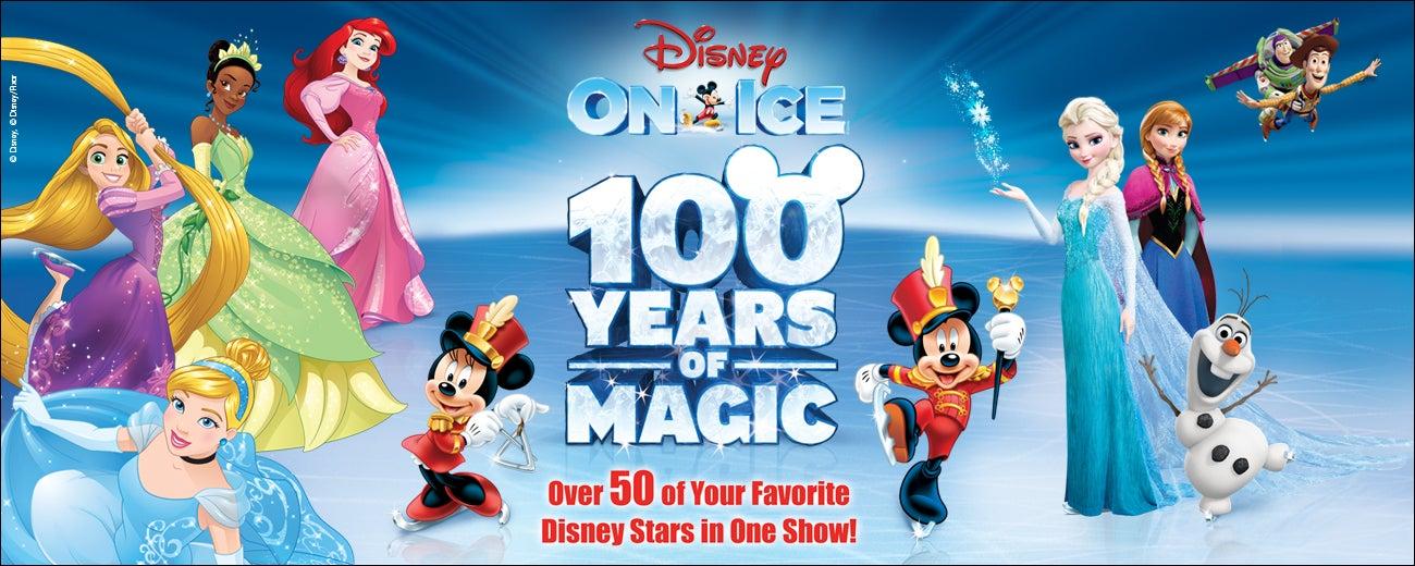Disney On Ice celebrates 100 Years of Magic