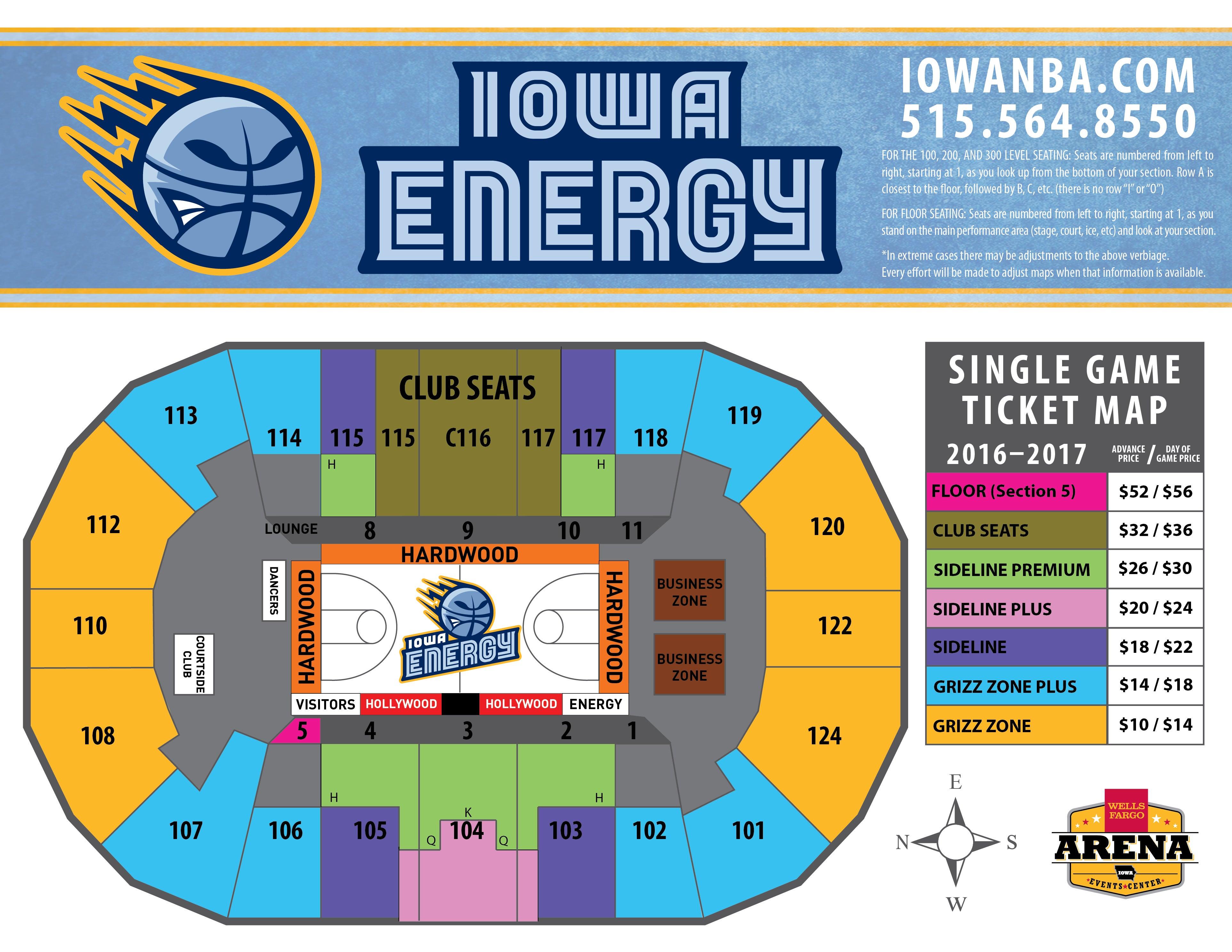 Iowa Energy 2016-2017