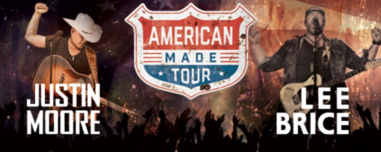 Justin moore tour dates in Melbourne