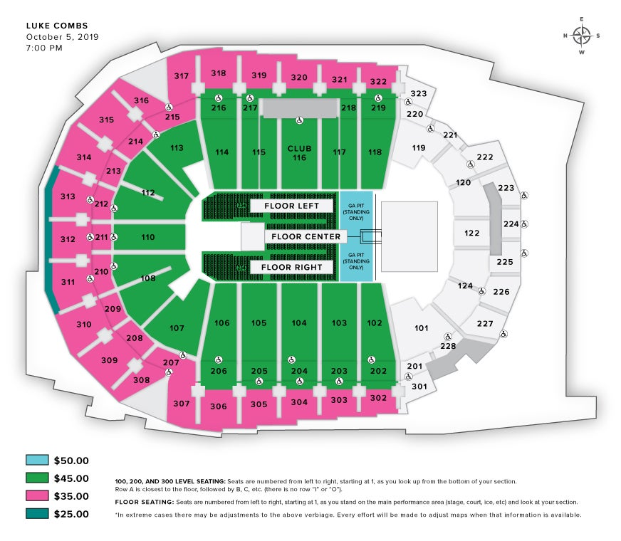 Seating Charts | Iowa Events Center