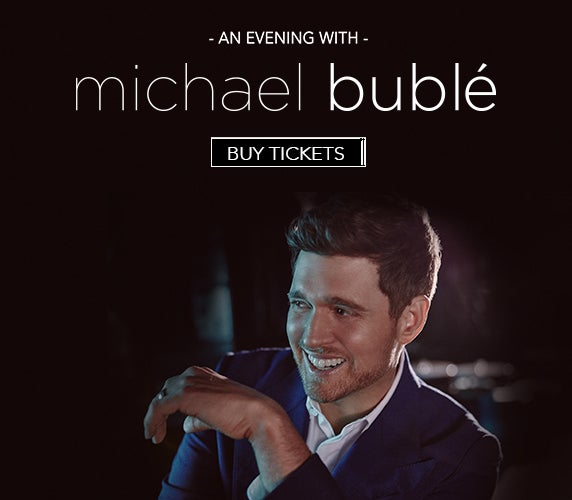 More Info for An Evening with Michael Buble rescheduled for February 21