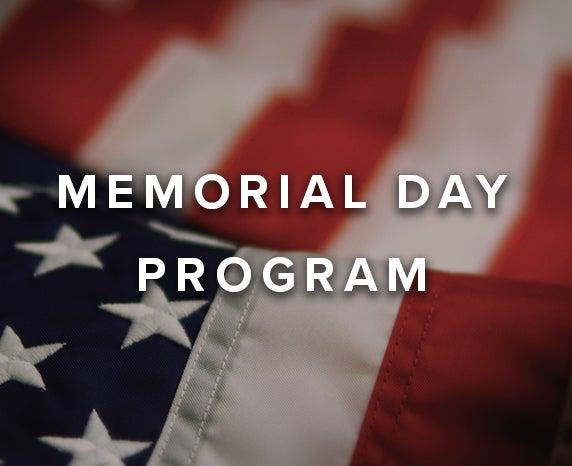 More Info for Iowa Events Center's Annual Memorial Day Program
