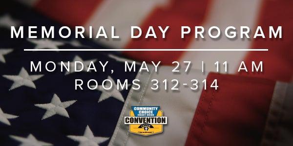 Iowa Events Center's Annual Memorial Day Program