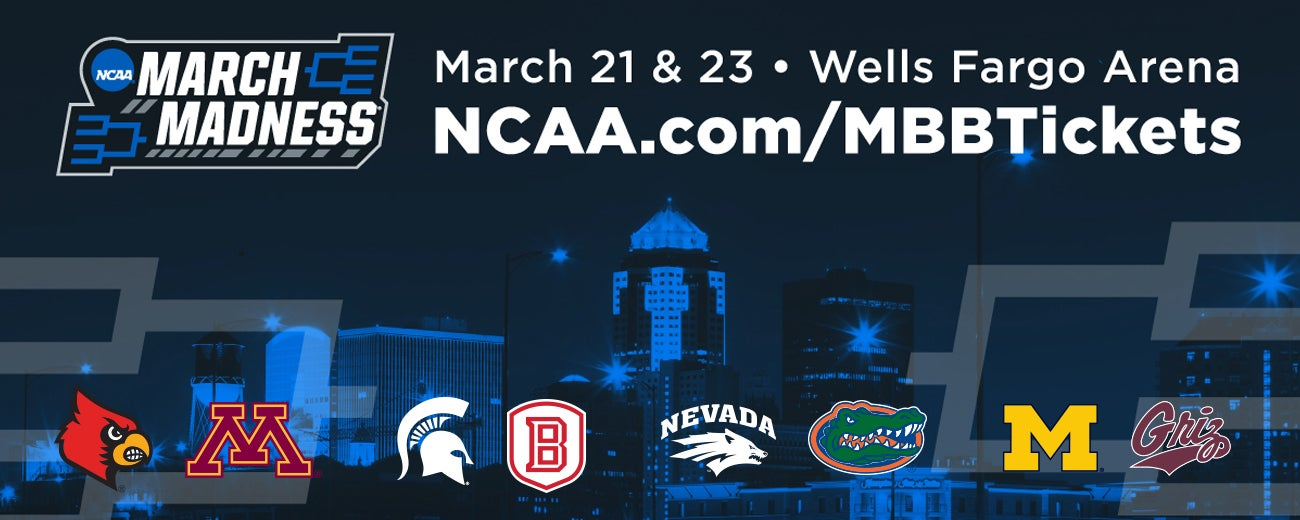 NCAA Division I Men's Basketball First and Second Rounds   Iowa