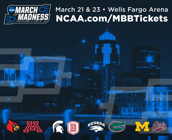 More Info for NCAA Division I Men's Basketball First and Second Rounds