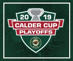Iowa Wild Announces First Rounds Playoff Schedule