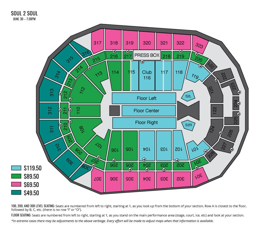 Mercedes benz stadium seating chart concert for Mercedes benz stadium seating chart falcons