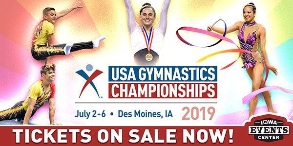 2019 USA GYMNASTICS CHAMPIONSHIPS