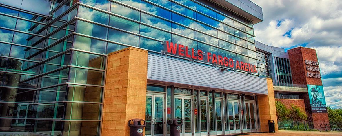Wells Fargo Arena Iowa Events Center