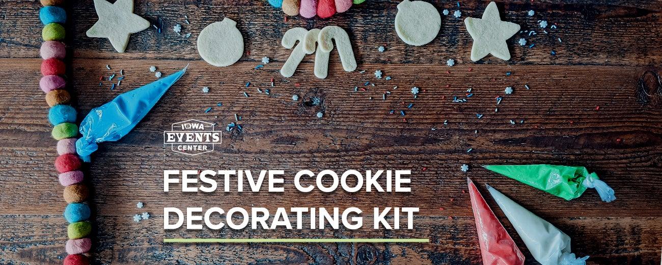 Festive Cookie Decorating Kit